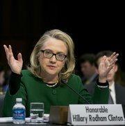 No. 5: Hillary Clinton, former secretary of state