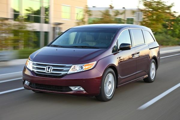 Sales were strong for the Honda Odyssey in August.