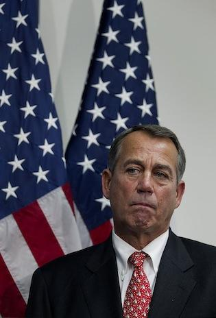 "House Speaker John Boehner is moving forward with his ""Plan B"" to avoid tax increases for most Americans in case fiscal cliff talks fail."