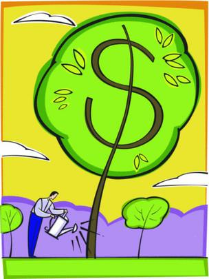 Income growth, water tree
