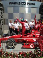 IndyCar driver <strong>Franchitti</strong> retires following crash in Houston