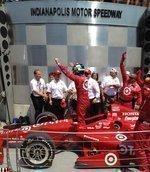 Target driver wins Indy 500; Target dog shares spotlight