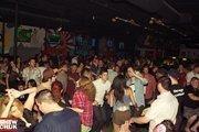 The dance floor atInsert Coin(s) Videolounge GameBar in Las Vegas