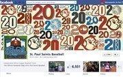 """No. 7St. Paul Saints6,500 Facebook """"likes"""""""