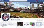 "No. 2Minnesota Twins771,000 Facebook ""likes"""