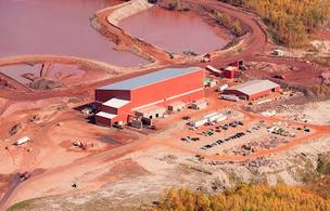 One of Magnetation's facilities on the Iron Range in northern Minnesota. This one is located just north of Grand Rapids.