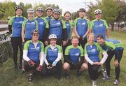 M.A. Mortenson team members and their family and friends participated in the MS 150, raising $19,300 for the MS Society.