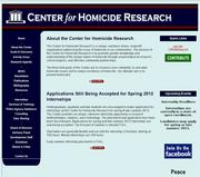 Before: Center for Homicide Research