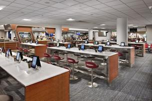 A look at how iPads have been deployed at LaGuardia Airport in New York. Minneapolis-St. Paul International Airport will be getting 2,500 iPads.
