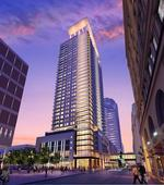 Opus plans $100M+ apartment tower for Powers site