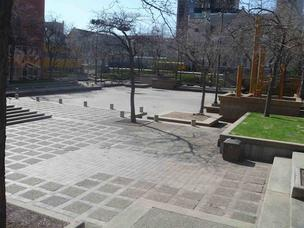 Peavey Plaza in downtown Minneapolis