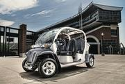 Polaris also sells a 4-seat model of the GEM. These types of electric vehicles are often used by park service officials, schools, resorts and companies with large corporate campuses.