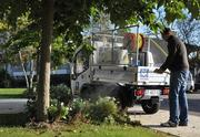 Polaris' Goupil utility truck is made in France and sold in Europe. It is used for light-duty work, such as hauling trash in dense urban areas. The vehicles come in electric and electric-gas hybrid models.