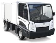 A 2013 model of Polaris' Goupil electric and electric-hybrid vehicle.
