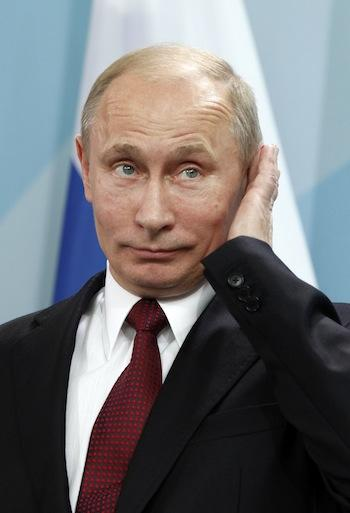 Russian President Vladimir Putin has joined with the U.S. against cyber threats.