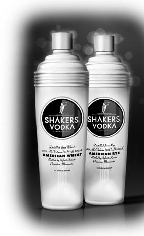The makers of Shakers Vodka have filed for bankruptcy.