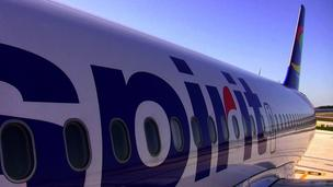 Spirit Airlines Inc. said Wednesday it moving up the start date of daily flights between the Twin Cities and Dallas.