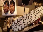 Derek Lam:Slippers, $49.99, and skateboard, $99.99