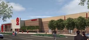 A rendering of the store Target plans to build in Pamona, Calif.