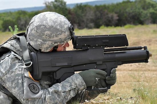 The XM25 developed by ATK, of which a Pittsburgh company is a subcontractor.