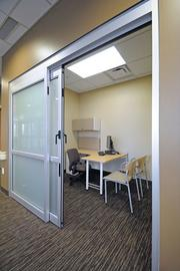 CONSULTATION AREA: A patient-consultation room