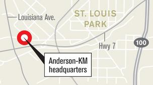 Anderson-KM Builders to build HQ with room for upstairs tenant