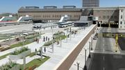 Backers of the Union Depot project in St. Paul expect the facility will become not only a key transportation hub, but a shopping and entertainment destination. View of the proposed project: 