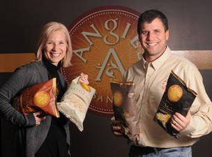 Angie and Dan Bastian founded their kettle corn business to help fund their kids' college fund. Now, the business generates more than $18 million in revenue.