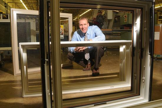 Brent Woods, son of the co-founders of Wellington Window & Door Co., leads newly launched Wellington Home Improvements.