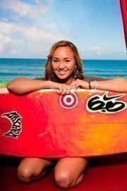 Target sponsors World Champion surfer Carissa Moore.