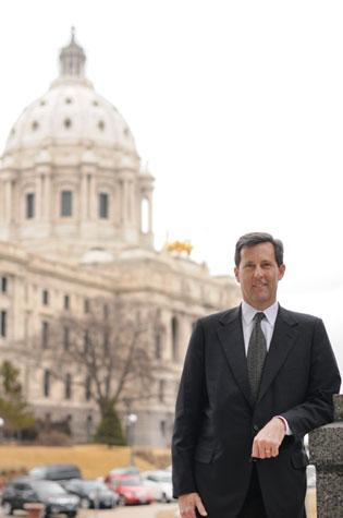 State Rep. Keith Downey wants Minnesota to offer a tax credit to insurers that back venture-capital investments in local firms.