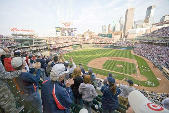 The Minnesota Twins home opener is Friday afternoon. Team officials expect another record year in attendance and revenue.