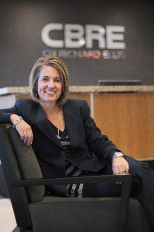 Since Patty Proshek took over CBRE's client accounting unit about five years ago, it has grown from 350 to 800 employees.