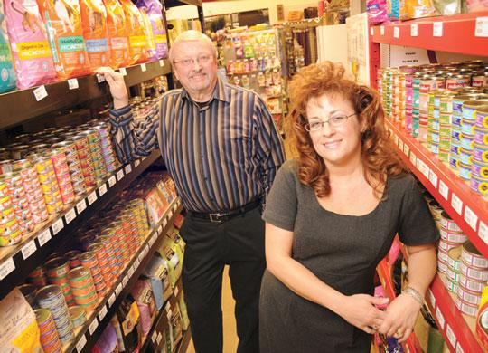Co-founder Chuck Anderson, left, and  Dana Andresen, operations director