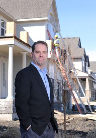Steve Logan, vice president of Mattamy Homes-Minnesota, announced price hikes last week in part to demonstrate stability.