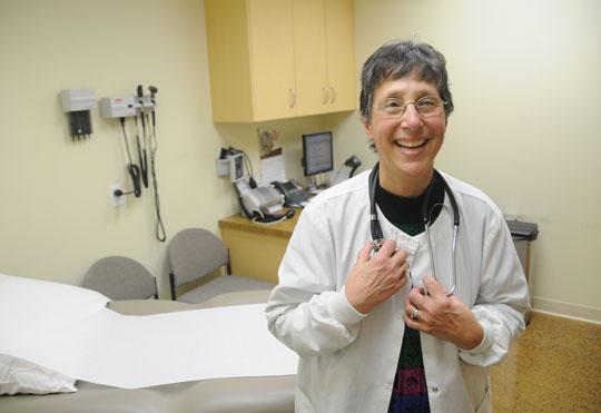 Karen Lesetmoe works as a physician assistant in the on-site clinic at Wilson Tool International in White Bear Lake. The company opened the clinic to prevent future health problems.