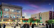 A rendering of the new Lunds.
