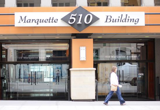 Opportunity Advisors plans to buy 510 Marquette at a discount, refurbish common areas and lease up the Minneapolis building.