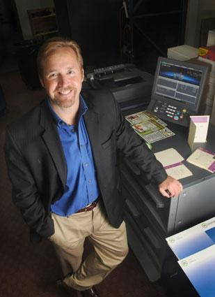 Greg McLeod, executive vice president of Innovative Office Solutions, is leading the company's expansion into the printing market. Printing may generate $1 million in revenue for the firm over the next year.