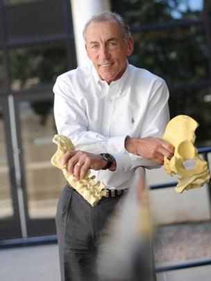 Serial entrepreneur Jim Bullock leads Zyga Technology, a firm developing devices for back and joint pain.