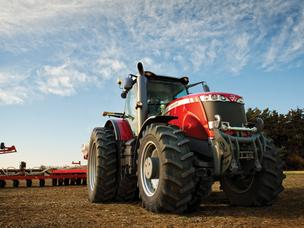The Duluth, Ga.-based agricultural equipment maker's third-quarter profit rose 9 percent on high demand for its products in the Americas.
