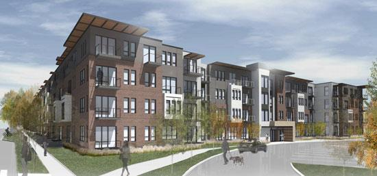 Flaherty & Collins is proposing The Residence at The Cor in Ramsey.