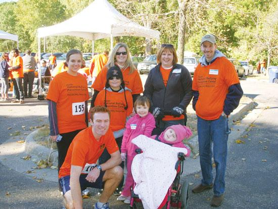 In October, Goff Public team members took part in the Pacer Walk/Run to Prevent Bullying.