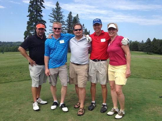 Hanratty associates participated in the Duluth Chamber of Commerce Golf Event.