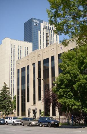 County-owned Century Plaza is across the street from the Mpls. Convention Center.