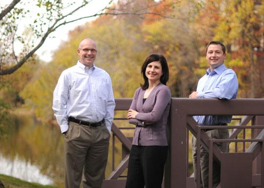 From left: Tonka Bay Equity Partners principals Steve Soderling, Molly Simmons and Shane Slominski. The growing private-equity firm just closed on a new $60 million investment fund.