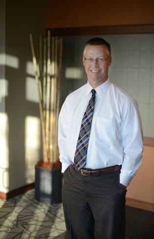 Troy Simonson, CEO of Twin Cities Orthopedics