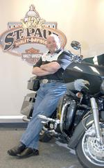 Harley sued over online sales