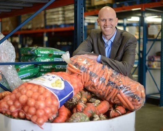 Second Harvest Heartland CEO Rob Zeaske