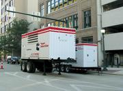 Cummins makes truck-trailer units for the leasing market and are in high demand during power disruptions. The firm also makes smaller generators.